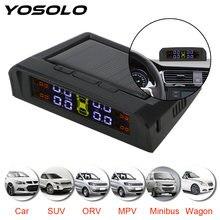 Система контроля давления в шинах yosolo tpms usb или солнечная