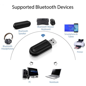 Image 2 - Kebidu 2 in 1 Wireless Bluetooth 5.0 Receiver Adapter Car AUX Audio USB Dongle Adapter 3.5mm Jack For Headphone Car Speaker Kit