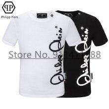 Philipp – T-shirt à manches courtes, décontracté, européen et américain, en Plein mode