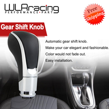 FREE SHIPPING 1 x Universal Automatic Transmission Car Gear Shift Shifter Lever Knob For Opel Vauxhall Insignia WLR-GSK97 cheap 4 8cm ISO9000 10 7cm PU leather and ABS plastics Gear Shift Knob 0 101kg BLACK brown PLASTIC 107MMX48MM