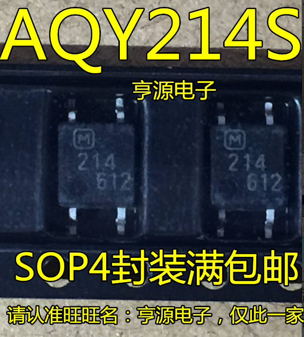 10 قطعة AQY214S AQY214SX AQY214 214 SOP4