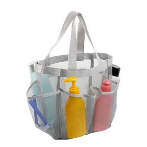 Oxford Cloth Shower Caddy Tote