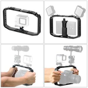 Image 4 - BGNing estabilizador de Vlog para cámara de Gopro 8, 7, 6, XiaoYI, EKEN, cámara deportiva