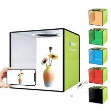 20cm/30cm Lightbox Mini Foldable Photo Studio Box Photography LED 30cm Lightbox Studio Shooting Tent kit & 6 Color Backdrops