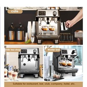 Image 5 - 15bar اسبرسو قهوة تجارية آلة 220V مطعم فندق مقهى باستخدام القهوة صانع LED عرض ماكينة إسبريسو