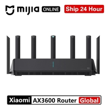 Xiaomi AX3600 AIoT Router Wifi 6 5G WPA3 Wifi6 600Mb Dual-Band 2976Mbs Gigabit Rate Qualcomm A53 External Signal Amplifier modem