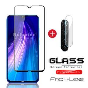 Защитная пленка для экрана 2 в 1 9d для xiaomi redmi note 8 pro, стеклянная Защитная пленка для камеры для redmi note 8 8pro note 8 note 8pro, стекло