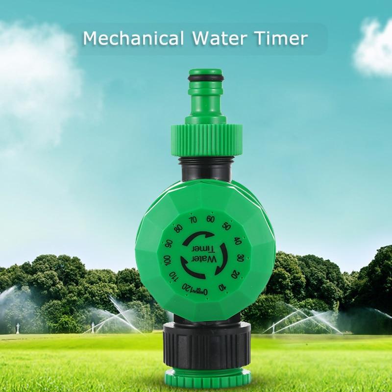 Automatic Mechanical Water Timer 2 Hours Sprinkler Irrigation Controller Hose Garden Plant 14x8cm Garden Irrigation Controllable title=