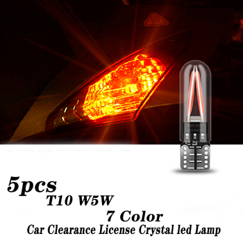 2X Crystal Eye Car Interior T10 Led Headlights Lamp For BMW E46 E39 E90 E60 E36 F30 F10 E34 X5 E53 E30 F20 M3 M4 M5 X3 X6 image