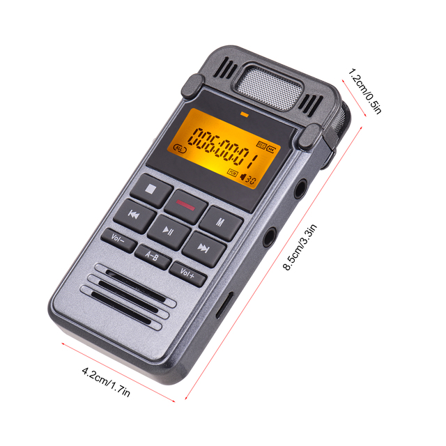 One-Button Recording Voice-Activated Support Recording  5