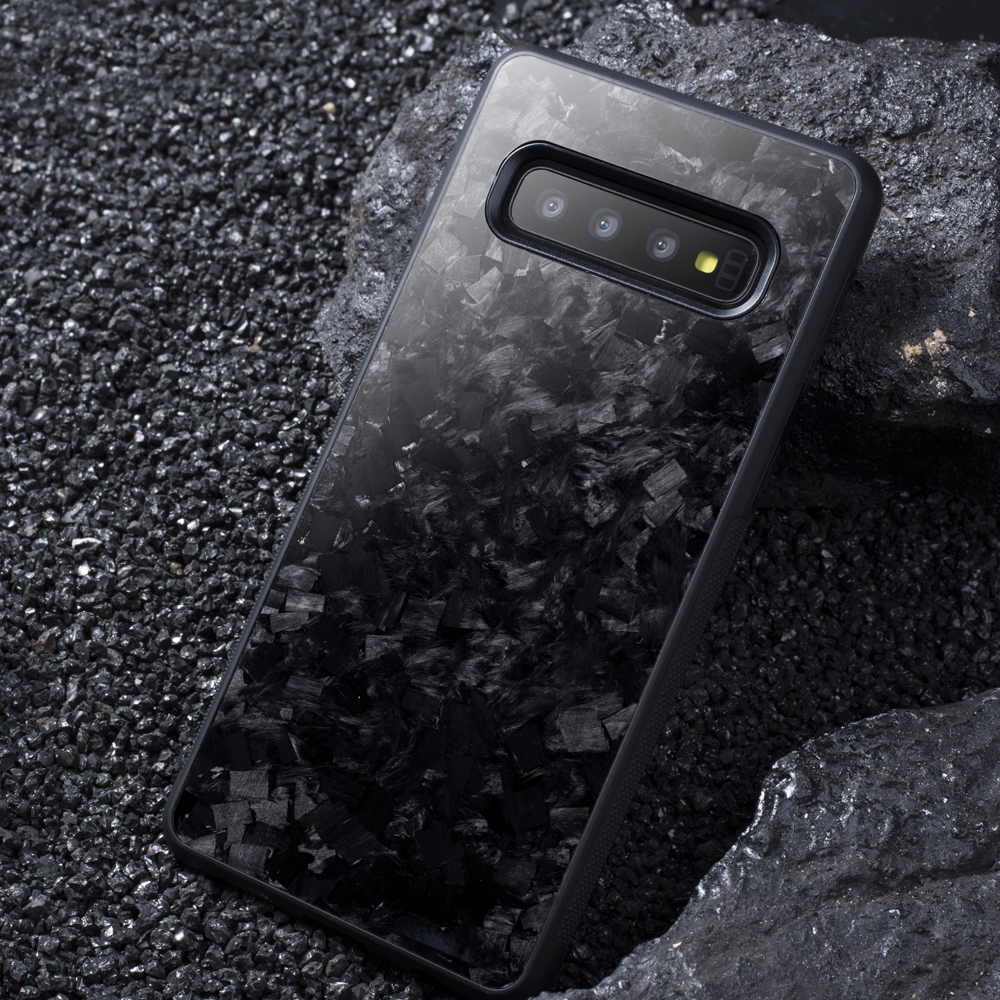 Real Forged Carbon Fiber Case for Samsung S10 S10E Back Cover Luxury Pattern for Samsung Galaxy S10 Plus Mobile Phone Case