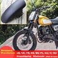 Universale Del Motociclo Retro Parafango Ultra-short Parafango Anteriore Parafango Racer Ruota Splash Shield Guard Per GN125 MASH125