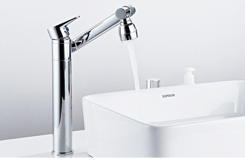 H46088e3f67a34bffb49720aafab80b99E ELLEN Multifunction Bathroom Sink Faucet Hot Cold Water Mixer Crane Antique Bronze Deck Mounted Universal Water Taps EL1326