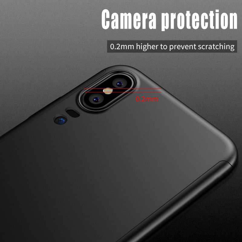 360 etui na całą obudowę skrzynka dla Huawei Y7 Y5 Y9 Y6 2019 P Smart 2019 P20Pro P8 P9 P30Lite etui na telefon do Honor 10Lite 10i 8X 8A 8S