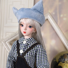 1/3 BJD doll 62cm joint body with hand-painted face clothes shoes wig and head can open, cute cat series named Miao Miao, SD(China)