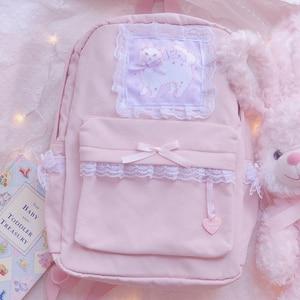 Нейлоновый женский рюкзак, новые модные женские повседневные школьные сумки на плечо, милые дорожные рюкзаки, рюкзак для девочек-подростко...