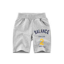 Boy Clothing Pants Trousers Elastic-Waist Baby Kids Beach Children Summer Toddler Letter Print cartoon printing toddler boy shorts summer children clothing casual cotton beach shorts elastic waist baby girls pants kids 2 7y