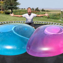 Outdoor Super Big Balloon ball Soft Squishys Air Water Filled Bubble Blow Up Child Play Games Baby bath shower beach Stress Ball(China)