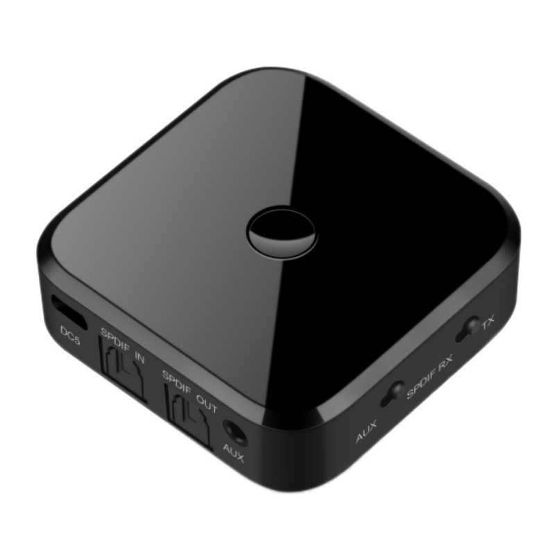 <font><b>Bluetooth</b></font> 5.0 Transmitter <font><b>Bluetooth</b></font> Receiver Wireless Audio <font><b>Adapter</b></font> 3.5mm AUX/SPDIF For TV <font><b>PC</b></font> <font><b>Bluetooth</b></font> Transmitter Receiver image
