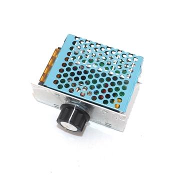 Regulator napięcia AC 220V 4000W SCR ściemniacze ściemniacze Regulator prędkości silnika termostat elektroniczny moduł tanie i dobre opinie NoEnName_Null CN (pochodzenie) Nowy Voltage Regulator 4000W Dimming Dimmers Voltage Regulator4000W AC220V