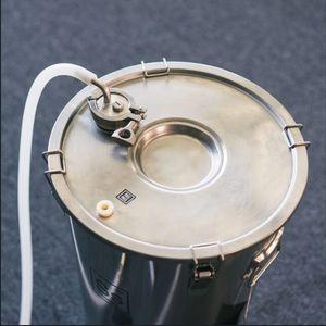 """Image 5 - Anteparo encaixe de compressão 1.5 tc e 2 """"tc homebrew weldless bulkehad 304 aço inoxidável chaleira homebrew anteparo"""