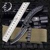 New Black Alien Keel Folding Blade Pocket CS Go Knife Hunting Camping Knives Military Self Defense Survival Tool For Man Women 1