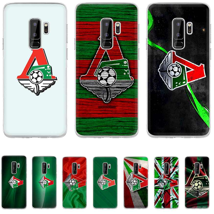 Phone Case For Samsung Galaxy S3 S4 S5 S6 S7 Edge S8 S9 S10 Plus S10e M10 M20 M30 M40 NOTE 8 9 Cover Moscow Locomotive Logo