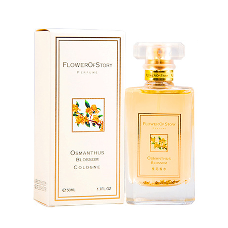 50ml original lady perfume flower story osmanthus lady perfume lasting fragrance gift box packaging perfume