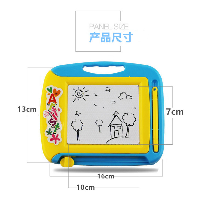 Children Drawing Board Magnetic Drawing Board Baby Magnetic Monochrome Doodle Board Small 1-3 Years Old 2 CHILDREN'S Toy Gift