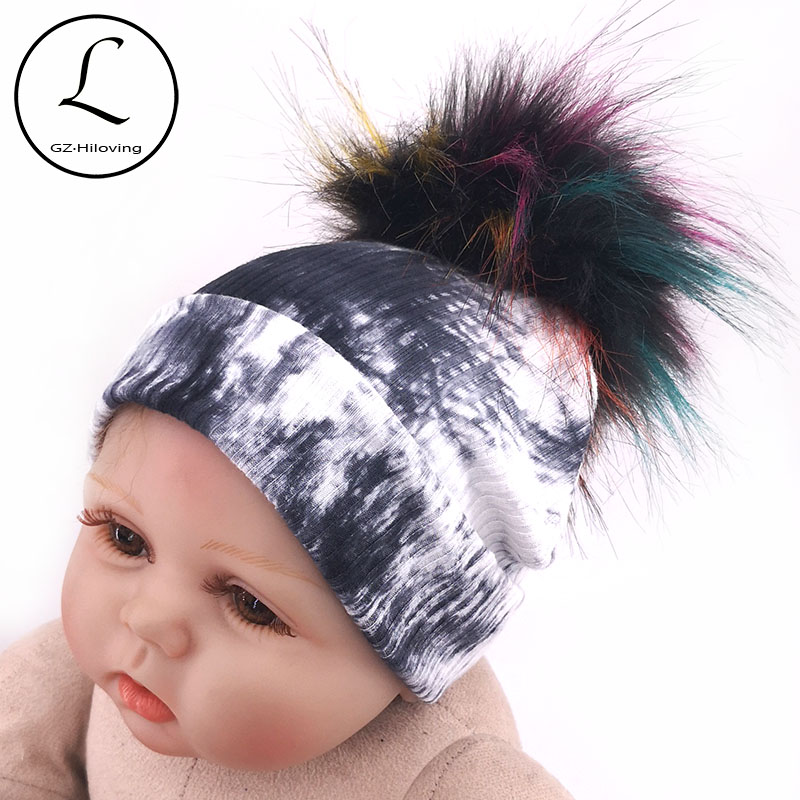 Tie dye hats infant and toddler