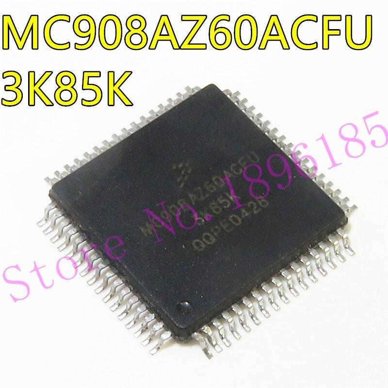 1 יח'\חבילה MC908AZ60ACFUE MC908AZ60ACFU MC908AZ60 QFP64