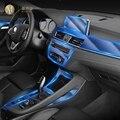 Для BMW F39 F48 X1X2 2016-2020Car интерьер центральной консоли прозрачная защитная пленка TPU Анти-Царапины ремонт пленка ремонт LHD RHD