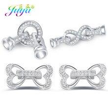 Juya-fermoirs pour perles faites à la main, accessoires pour fabrication de bijoux en pierre naturelle, bijoux à bricoler soi-même