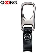 Умный кошелек для ключей qoong из натуральной кожи «сделай сам»