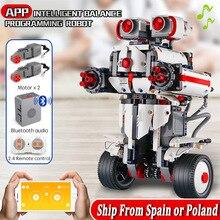 Mold King Idea MINDSTORMS program równoważenie Robot klocki klocki zabawki kompatybilne z Technic 31313