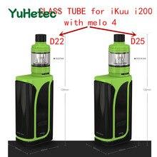 Glass-Tank MELO Eleaf Pyrex YUHETEC for Ikuu I200-Kit with 4 D22/d25/Pyrex/.. D22/d25/Pyrex/..