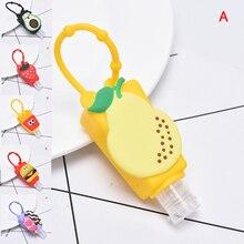Fruit Mini Hand Sanitizer Holder Travel Portable Safe Gel Ho