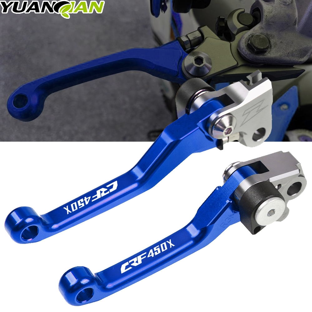 For HONDA CRF450X 2005-2018 <font><b>CRF</b></font> <font><b>450X</b></font> 2006 2007 2008 2009 2010 2011 2012 2013 2014 Motorbike CNC Dirt Bike Brake Clutch Lever image