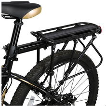 Bicycle-Luggage-Carrier Cargo-Racks Bikes Mountain-Bike Road Aluminum XC Black USHIO
