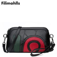 2019 luxury sheep skin genuine leather shoulder bag ladies bags 100 Genuine leather women Messenger Bags F-532 cheap Filimohlls Day Clutches Sheepskin Flap NONE Polyester Single Fashion Versatile zipper Cell Phone Pocket Interior Zipper Pocket