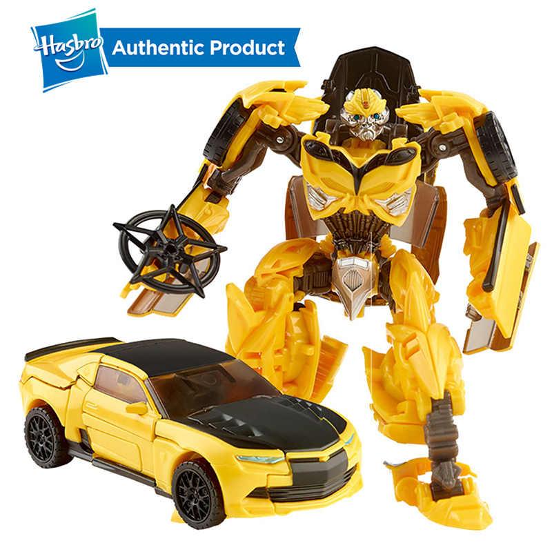 הסבר רובוטריקים האחרון אביר פרמייר מהדורת Deluxe הדבורה פעולה איור אחד צעד מחליף ילד צעצועים