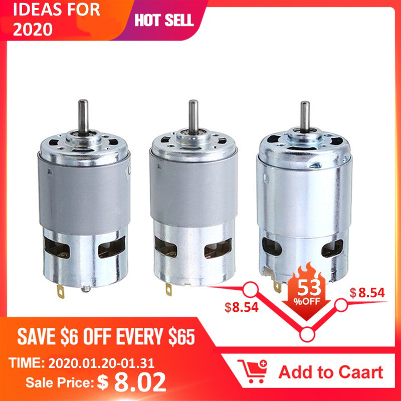 390//540//550//555//775//795//895 High Power Torque Motor for Drill Toy Car Boat Model