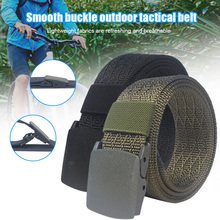 Nylon Belt with Quick-drying Smooth Buckle and Imitation Nylon for Men's Military Tactical Belt MC889 pentel bln75 super smooth quick drying unisex pen