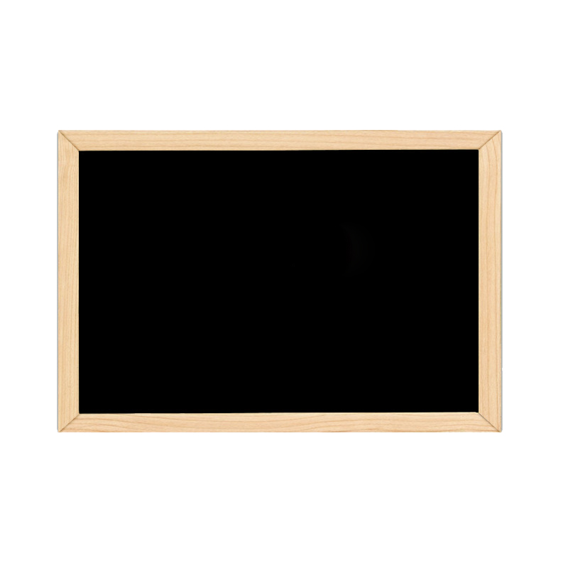 Double-Sided Blackboard Wooden Crafts Wooden Frame Small Blackboard Writing Message Board Home Decoration DIY Listing