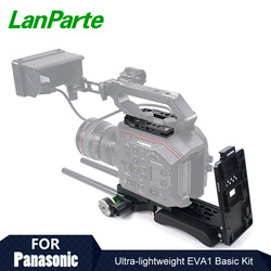 Lanparte Ultra Lightweight EVA1 Basic Rig for Panasonic with Quick Release Camera Plate