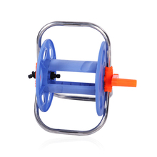 Newly Water Hose Reel Rust Resistant Stainless Steel Handle Portable Space Saving Tool Store Hose XSD88