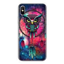 Covers Mandala Tribal veer Dreamcatcher Voor iPhone XS Max XR X 4 4S 5 5S 5C SE 6 6S 7 8 Plus Samsung Galaxy J1 J3 J5 J7 A3 A5(China)