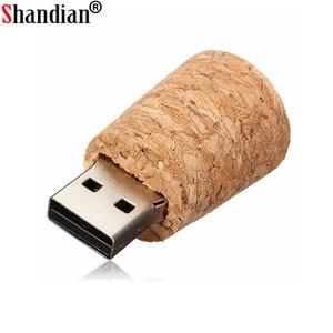 Image 5 - SHANDIAN 100% Hàng Mới Về Sứ Giả Bình nhớ USB Kính trôi bình ổ đĩa flash USB srong đóng gói Miễn Phí tùy chỉnh logo