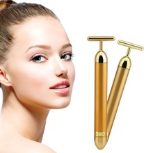 Facial Massage Roller T/R Shape Face Heads Stick Face Lift Hands Body Skin Relaxation Slimming