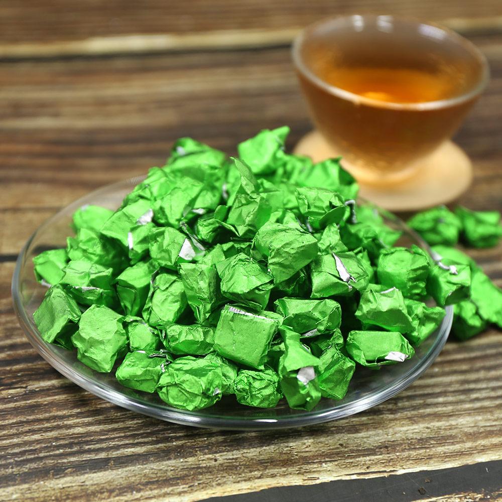 2011 Shen Pu-erh Chagao Green Foil Packing High Quality Raw Pu-erh Cream Cha Gao